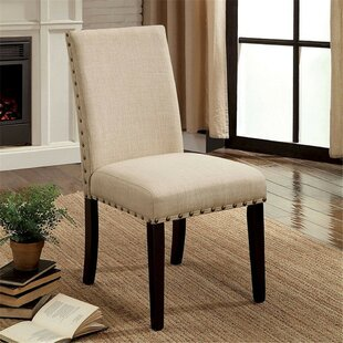 Rigby Upholstered Dining Chair (Set of 2) Alcott Hill