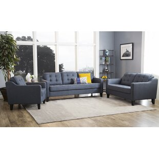 Lappin 3 Piece Living Room Set by Latitude Run