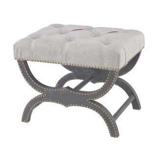 One Allium Way Lambert Upholstered Bench