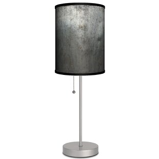 Compare prices Paras Metal Texture 19 Table Lamp By Ebern Designs