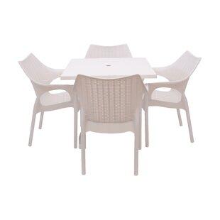 Slezak 5 Piece Dining Set by Brayden Studio