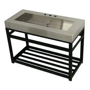 Shop For Fauceture Metal 49 Console Bathroom Sink ByKingston Brass