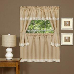 Harwood Solid Sheer Rod Pocket Single Curtain Panel