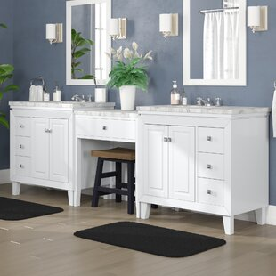 Reynolds 103 Transitional Double Bathroom Vanity Set by Alcott Hill