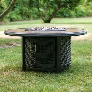 Tretco Aluminum Gas Fire Pit Table