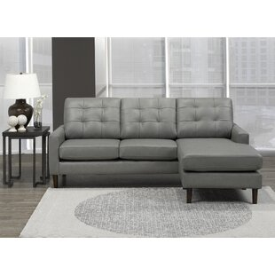 Velda Leather Sectional