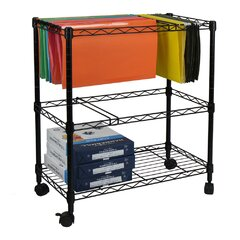 2 Tier File Cart Wayfair