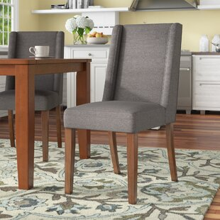 Check Prices Granderson Upholstered Dining Chair (Set of 2) by Three Posts Reviews (2019) & Buyer's Guide