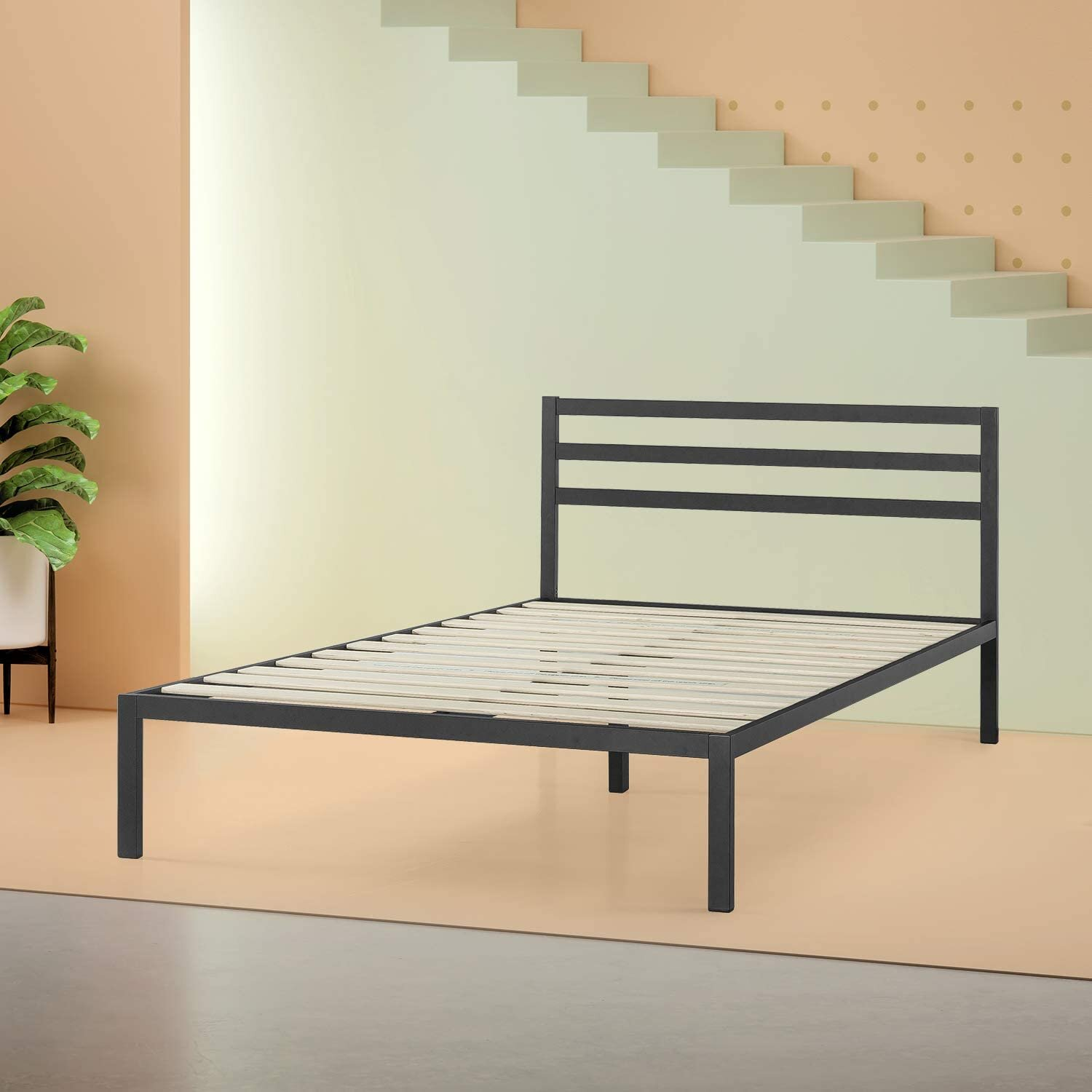 Picture of: Metal Queen Size Beds You Ll Love In 2020 Wayfair