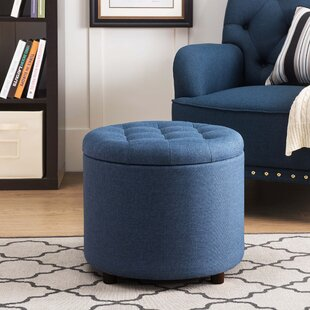 Stutler Tufted Storage Ottoman by Winston Porter