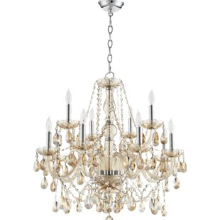 Willa Arlo Interiors Evgenia Traditional 12-Light Candle Style Chandelier