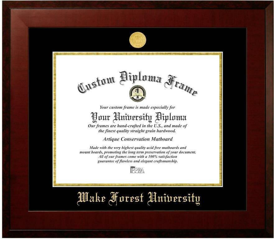 Diploma Frame Deals Wake Forest University Designer Picture Frame ...