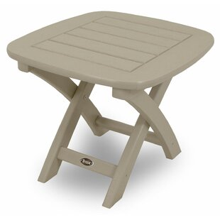 Yacht Club Plastic/Resin Side Table by Trex Outdoor