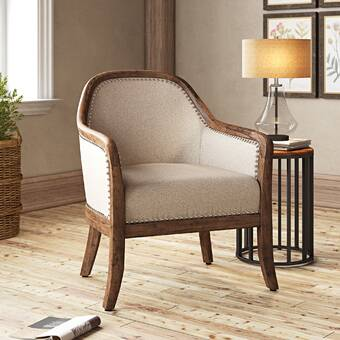Kelly Clarkson Home Margarit 28 Wide Polyester Barrel Chair Reviews Wayfair