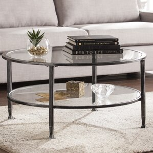 Brilliant Contemporary Coffee Table And Glass Round D Throughout Decorating Ideas