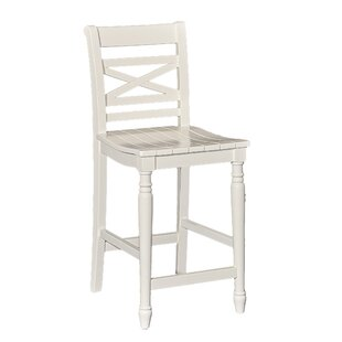 Hopewell Bar Stool by Rosecliff Heights