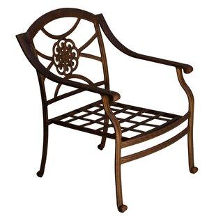 Fleur De Lis Living Ross Patio Chair with..