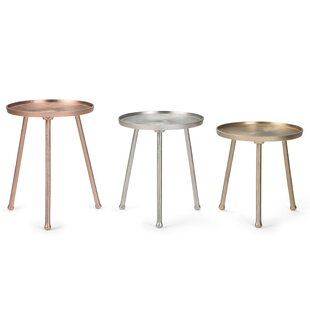Demario 3 Piece Nesting Tables by Bungalo..
