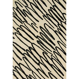 Buying Mazon Hand-Tufted Beige/Black Area Rug By Ivy Bronx