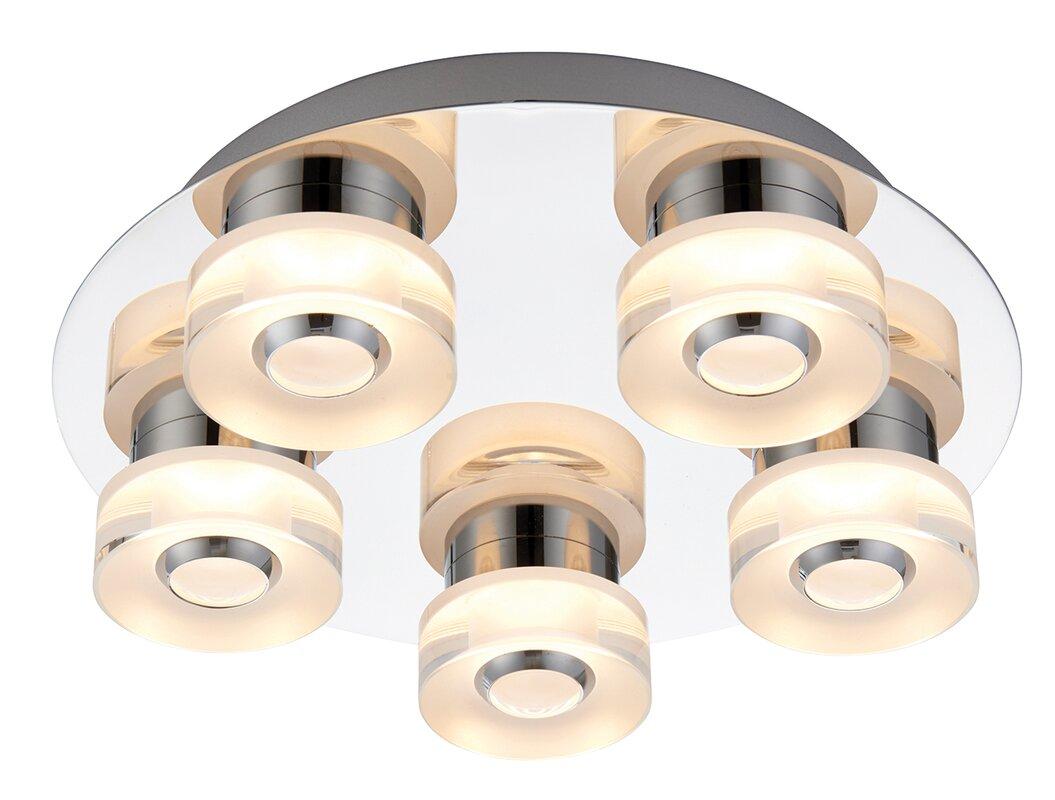 endon lighting deckenleuchte 5 flammig rita. Black Bedroom Furniture Sets. Home Design Ideas
