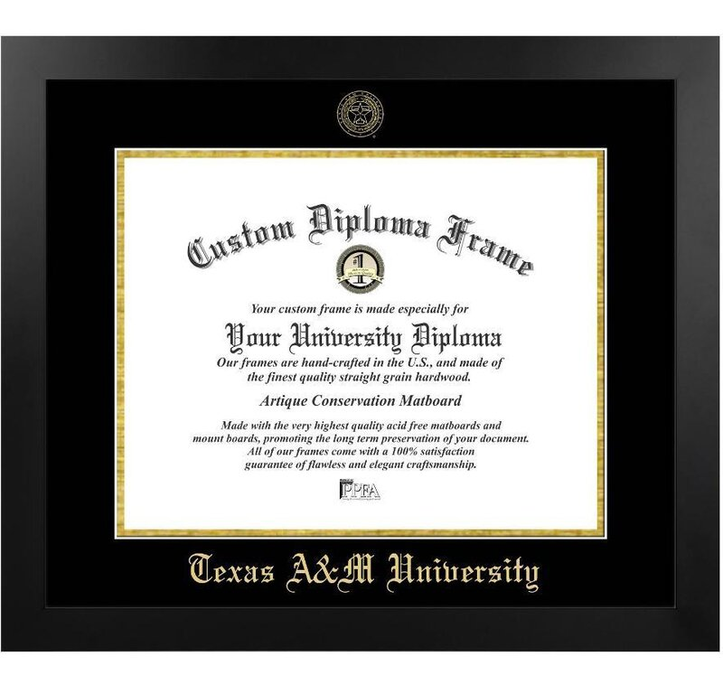 Diploma Frame Deals Texas A & M University The Contemporary Picture ...