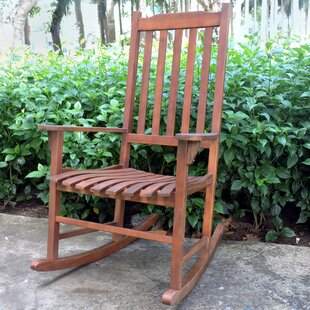 Northbeam Outdoor Traditional Rocking Chair