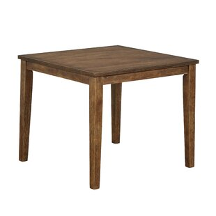 Langner Solid Wood Dining Table by Charlton Home Sale