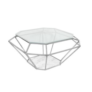 Diamond Coffee Table by Fashion N You by Horizon Interseas