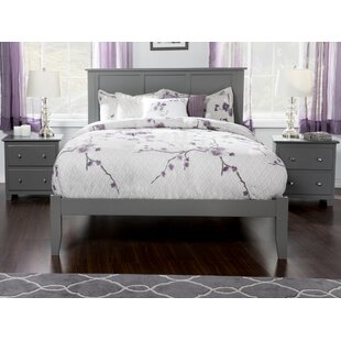 Espinoza Platform Bed with Open Footboard by Three Posts
