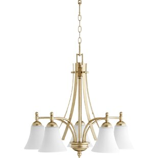 Comparison Eastchester 5-Light Shaded Chandelier By Alcott Hill