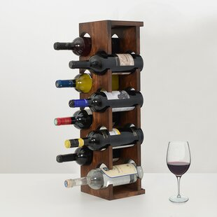 Benally 8 Bottle Tabletop Wine Rack by Fl..
