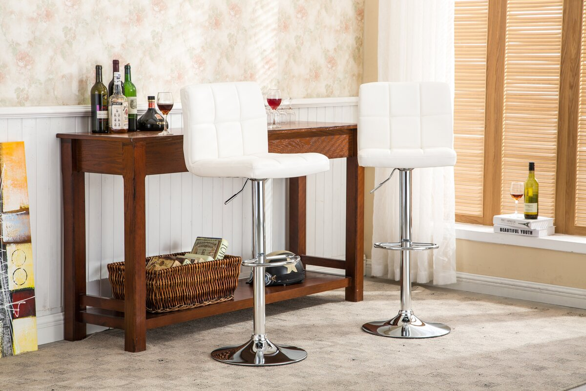 100 what is the height of a bar stool ac pacific adjustable