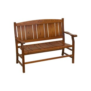 Grindle Slat Back Wooden Garden Bench