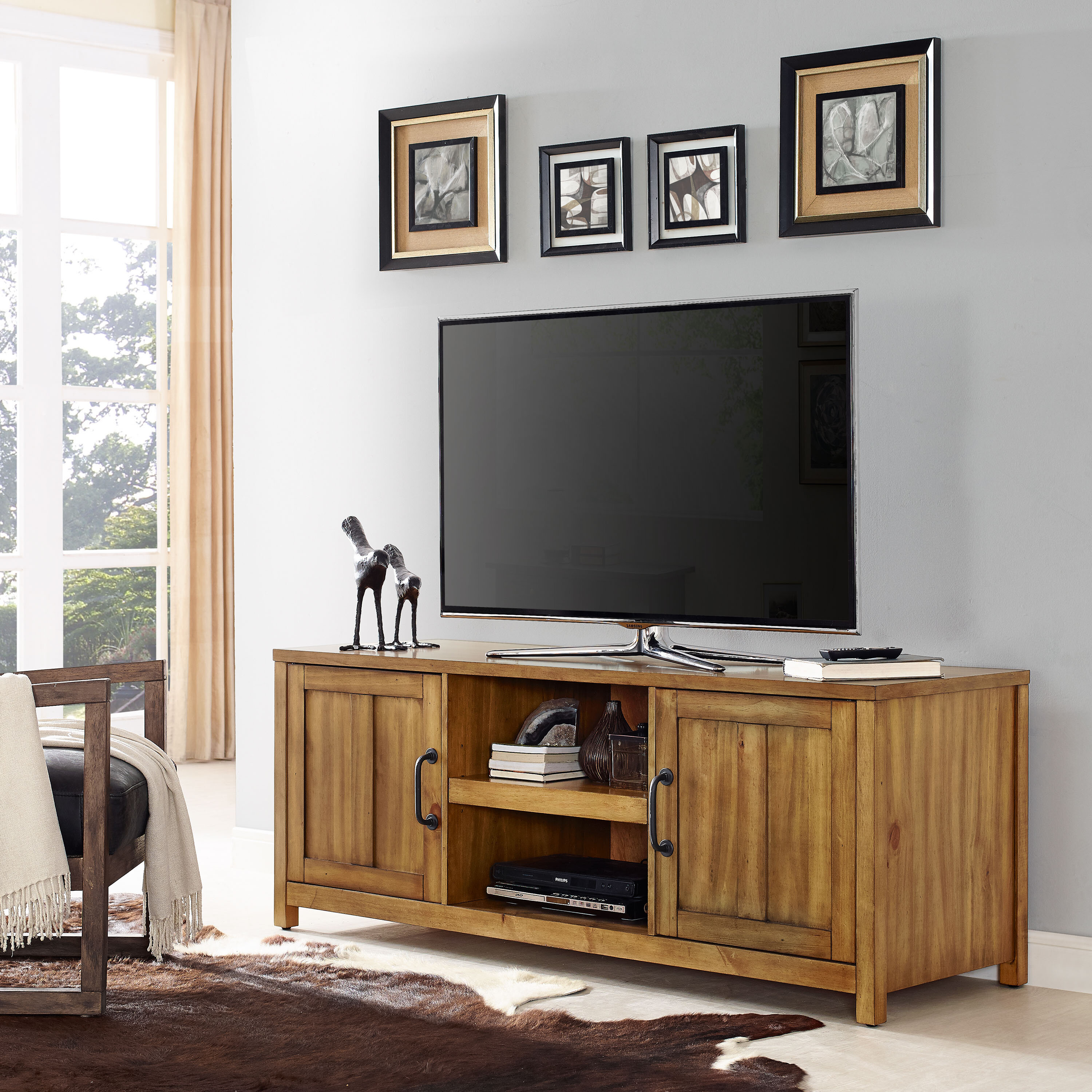 Loon Peak Olinger Tv Stand For Tvs Up