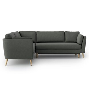 Holsey Sleeper Corner Sofa Bed By Ebern Designs