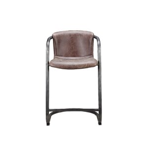 Geneva Low Back Bar Stool (Set of 2) by 17 Stories