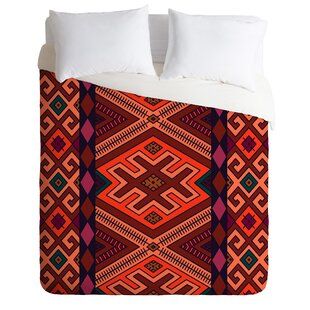 East Urban Home Rug Burn Duvet Cover Set Image