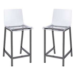 Channing 24 Bar Stool (Set Of 2) by Mercury Row Reviews