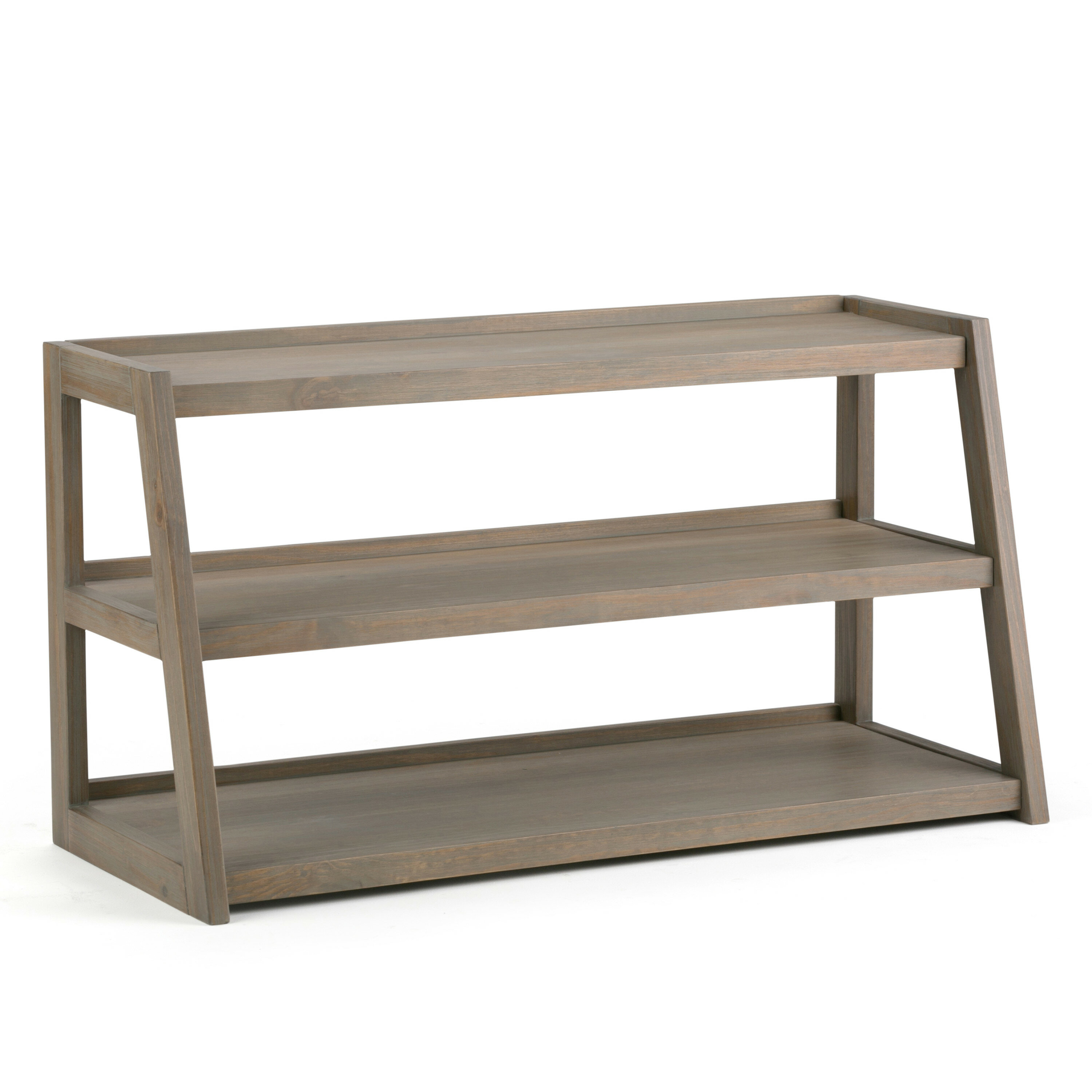 Gracie Oaks Donohoo Solid Wood Tv Stand For Tvs Up To 55 Reviews Wayfair