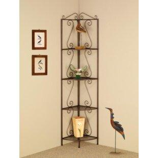 Bensley Corner Unit Bookcase Fleur De Lis Living