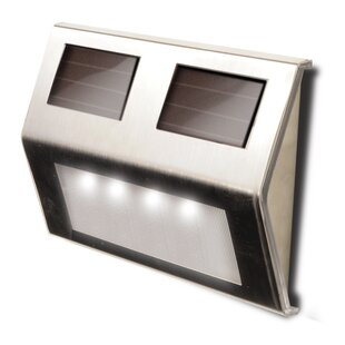 Maxsa Innovations Decorative Solar 4-Light Deck Light (Set of 4)