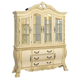 Hokku Designs Dolores Lighted China Cabinet