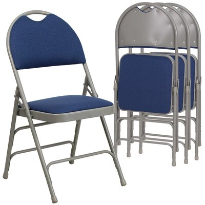 Symple Stuff Laduke Padded Folding Chair