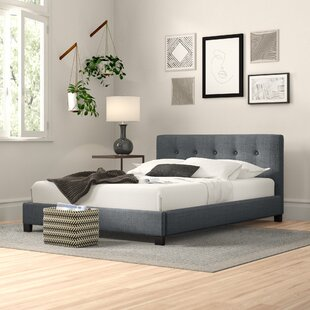 Tricia Upholstered Bed Frame By Zipcode Design