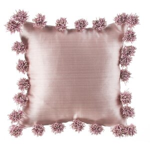 Robb Pink Throw Pillow