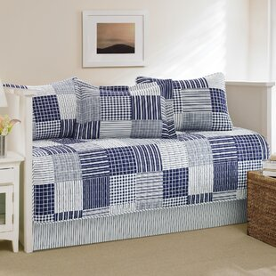 Key Haven Cotton 5 Piece Reversible Quilt Set