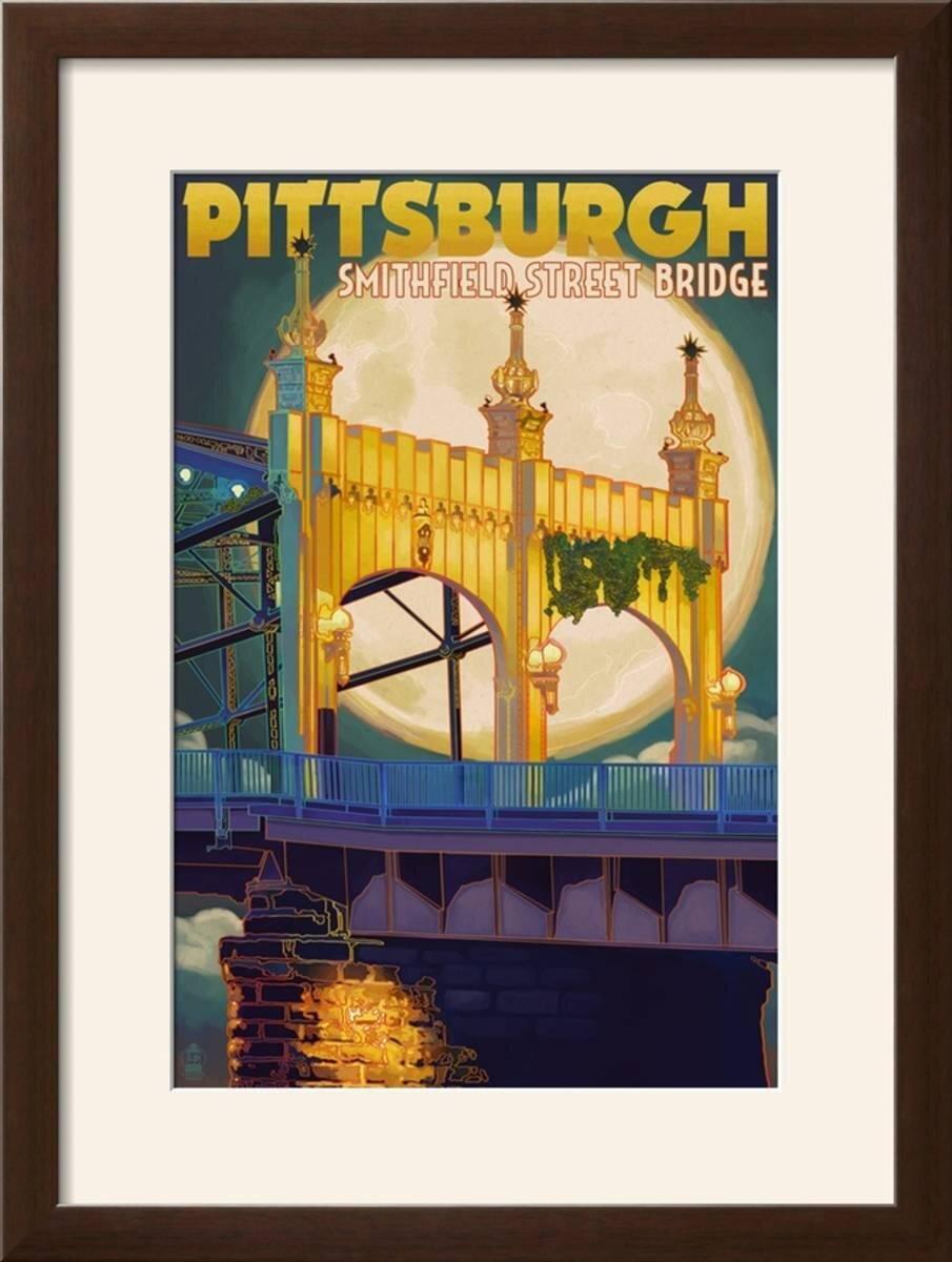 Winston Porter \'Pittsburgh, Pennsylvania - Smithfield St. Bridge and ...