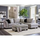 Mccardle 118 Right Hand Facing Sectional with Ottoman by Red Barrel Studio®