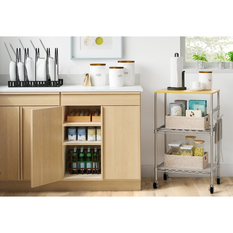 Dotted Line Ty 34 Kitchen Cart