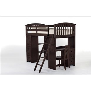 Price Check Nickelsville Student Loft Bed by Three Posts Reviews (2019) & Buyer's Guide